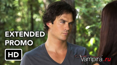 The Vampire Diaries 7x02 Extended Promo - Never Let Me Go Русские субтитры